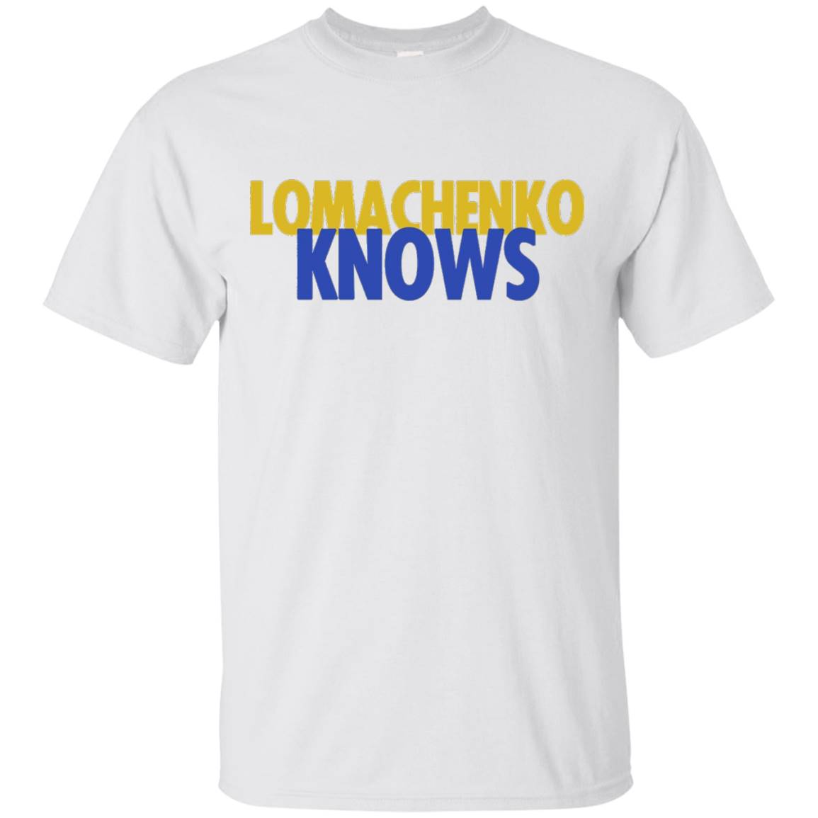 Lomachenko Knows T-Shirt
