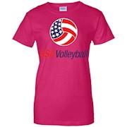 Usa Volleyball Logo T-Shirt