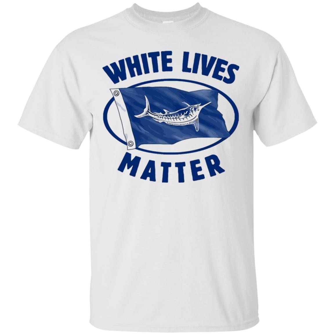 White Marlin Lives Matter Shirt – T-Shirt