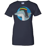 Reggae Shark – The Key of Awesome T-Shirt – Unisex Shirt