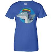 Reggae Shark – The Key of Awesome T-Shirt – Unisex Shirt