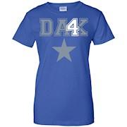 Dak Prescott T Shirt Cowboys Fan