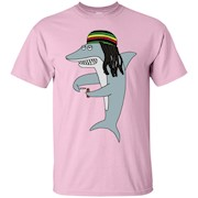 Reggae Shark T Shirt, Reggae Shark Rasta, Reggae Shirt