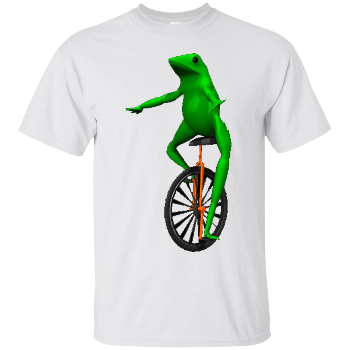 Dat Boi Unicycle Frog T-Shirt