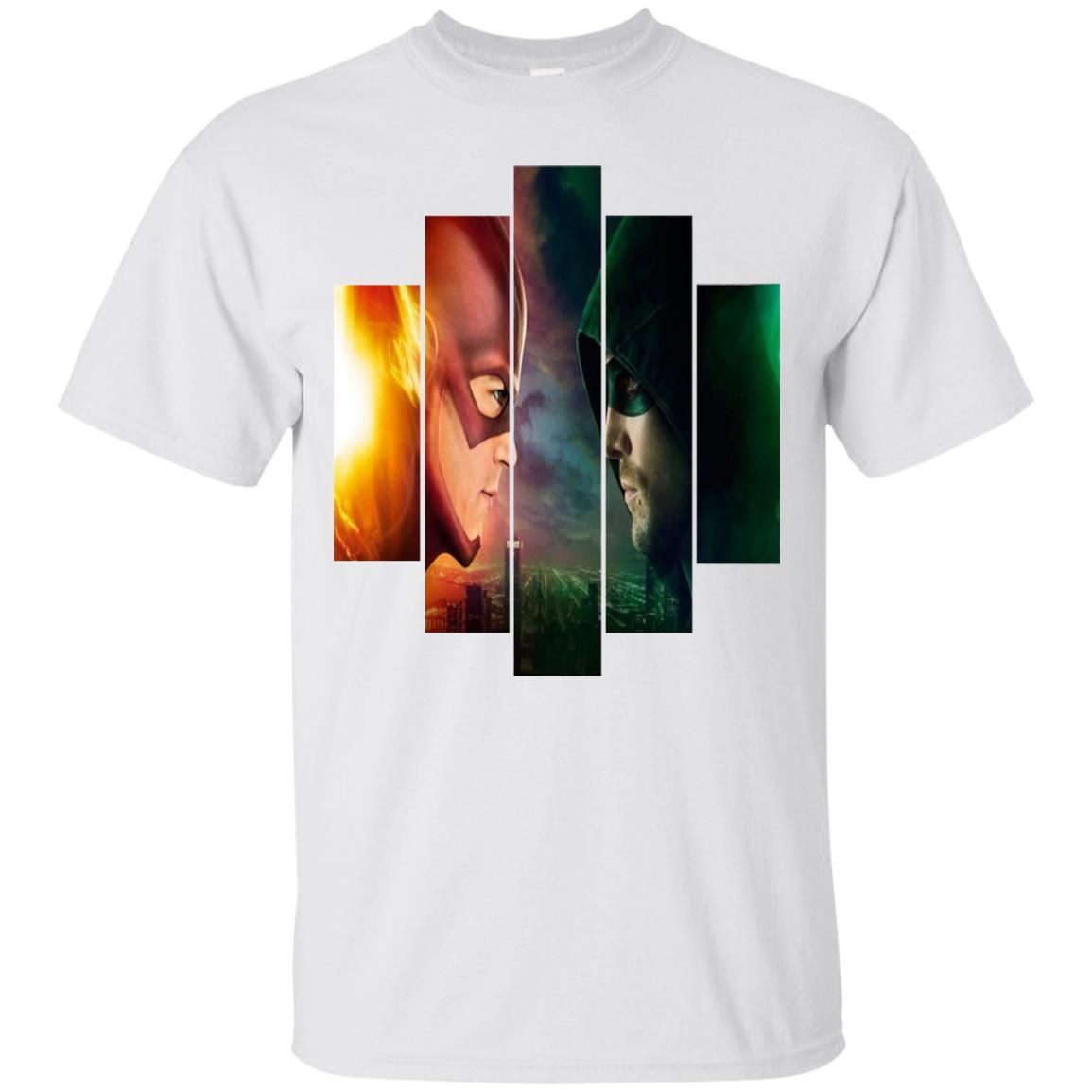 Flash V.S Green Arrow T-Shirt