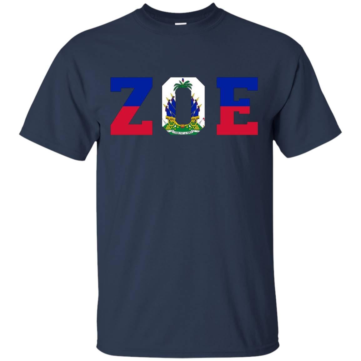 Haitian Zoe- – Haitian pride for haitian flag day T-Shirt