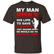 Firefighter Wife Girlfriend Volunteer Fire Fighter T-Shirt