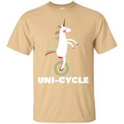 Unicorn on Unicycle T-Shirt
