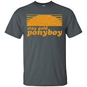 No1.TShirt Stay Gold Ponyboy T-Shirt