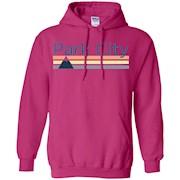 Park City Retro Mountain – Utah T-Shirt