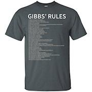 Gibbs Rules T-Shirt – Gibbs Rules Shirt – Gibbs RulesT Shirt – Complete List T-Shirt