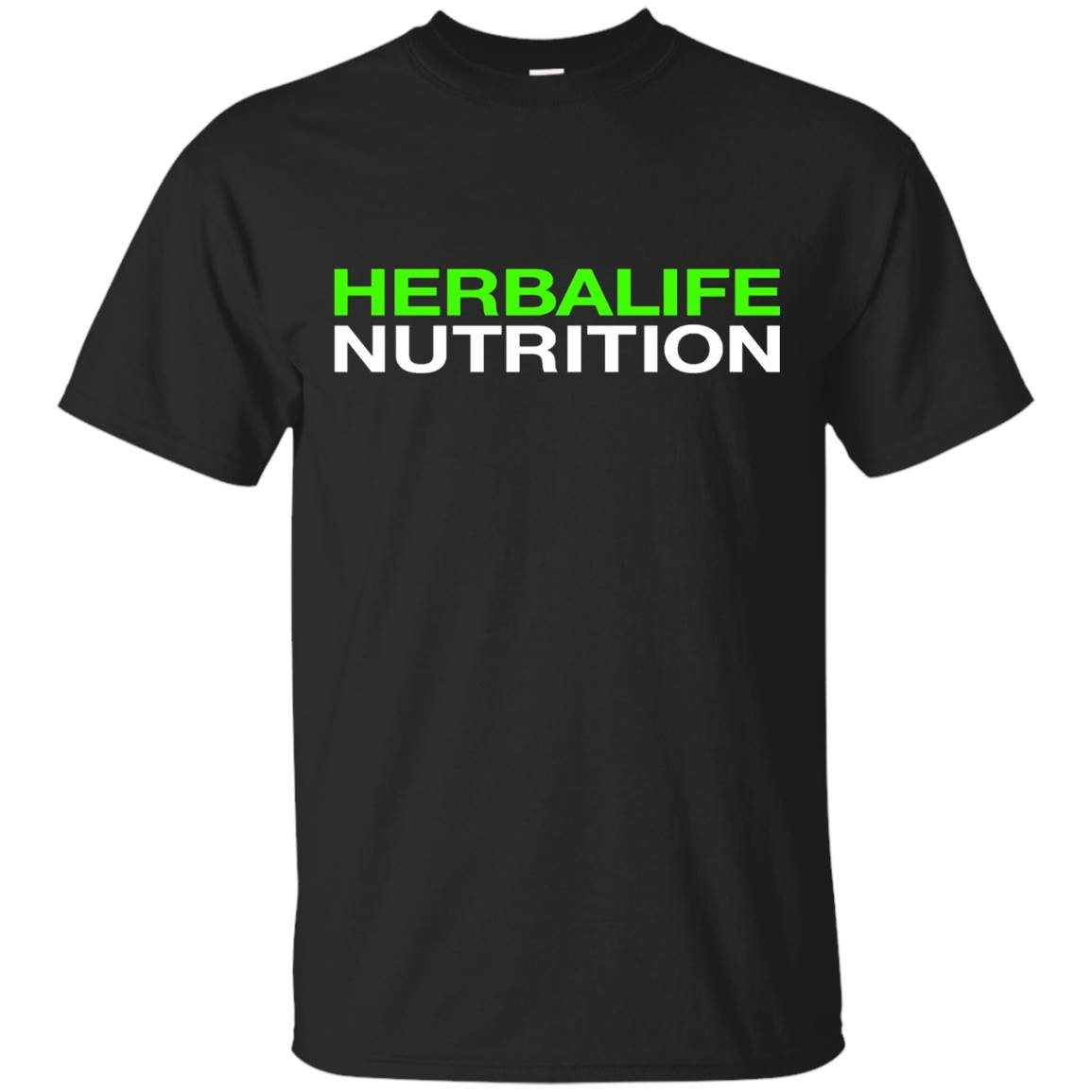 HERBALIFE NUTRITION T-SHIRT – NEON WHITE DESIGN T-Shirt
