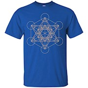 Metatron's Cube Sacred Geometry T-Shirt