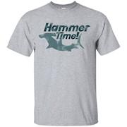 Hammer time shirt hammerhead shark t-shirt retro T-Shirt