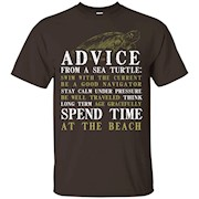 Advice From A Sea Turtle Cool Gift For Turtle Lovers T-Shirt