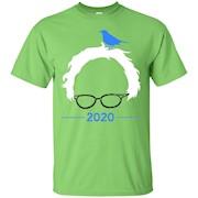 Bernie Bird Shirt – President 2020 Sanders Peace Bern Birdie T-Shirt
