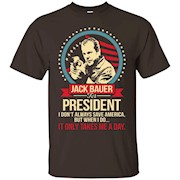 VOTE JACK BAUER FOR PRESIDENT 2016 FUNNY T SHIRT – T-Shirt