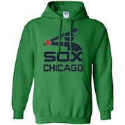 Love Chicago's White Baseball Team Sox T-Shirt