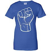 Black Power Fist T-shirt, BLM, Culture, History, Zany Brainy