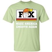 Fox Trump – Make America Smooth Again – Funny Cycle – T-Shirt