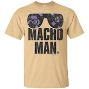 WWE Macho Man Classic Distressed Sunglasses – T-Shirt