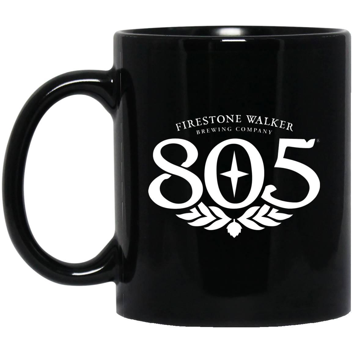 805 Beer  Black Mug