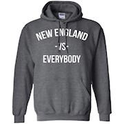 New England Vs Everybody City Football Pullover Hoodie