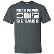 Rock Paper Sig Sauer Gun T-Shirt