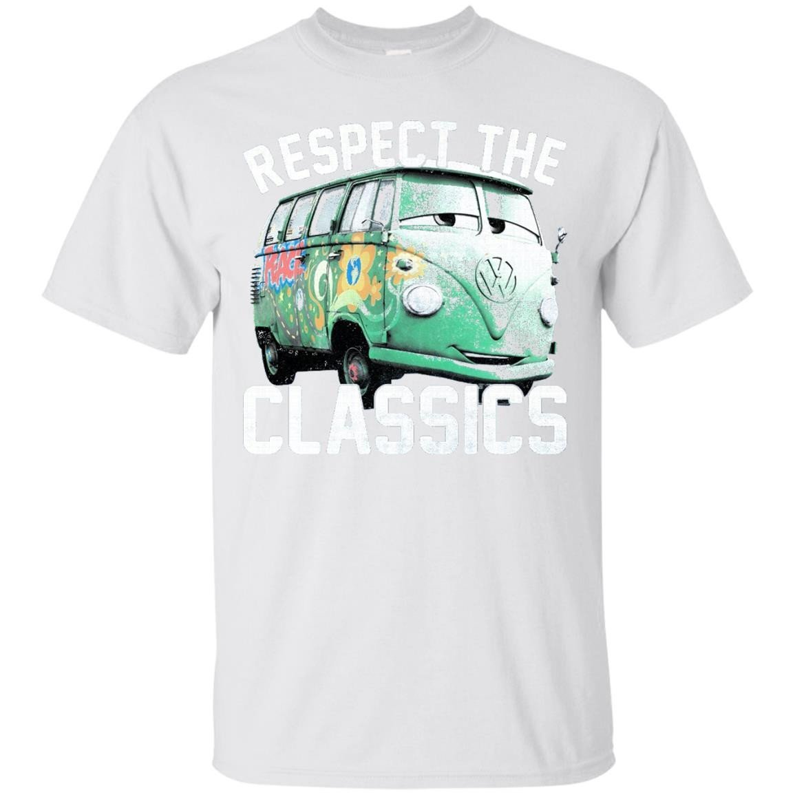 Disney Pixar Cars Fillmore Respect Classics Graphic T-Shirt