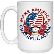 Make Grateful Again – America – White Mug