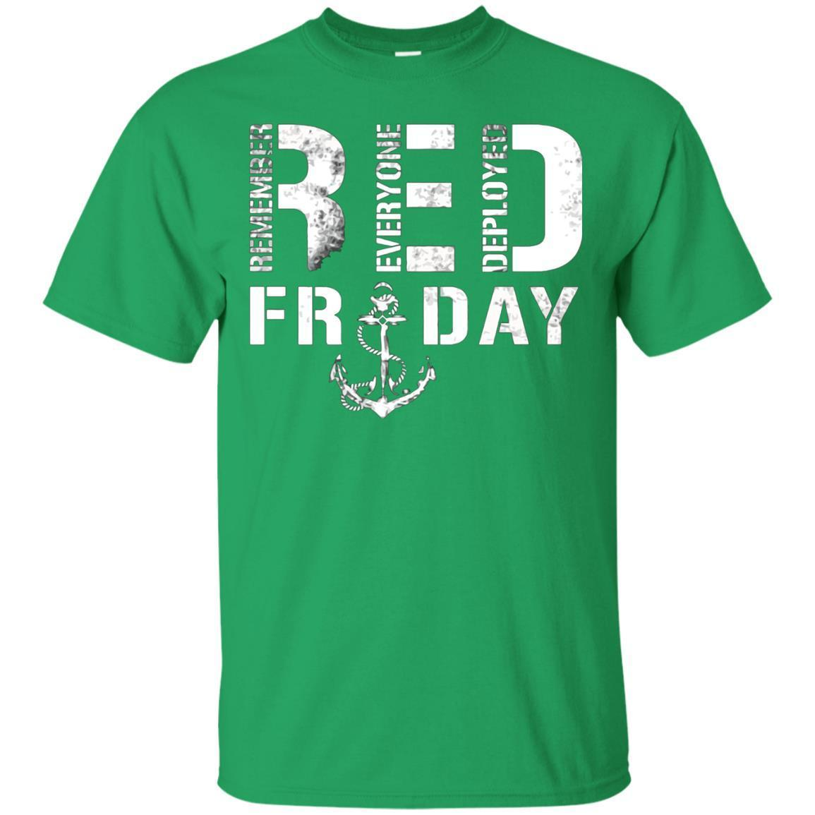 Remember Everyone Deployed Red Friday TShirt