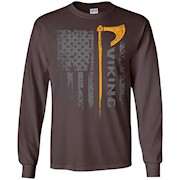 American Viking Flag LS T-Shirt
