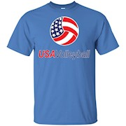 Usa Volleyball Logo T-Shirt Gift