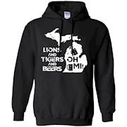 LIONS & TIGERS & BEERS, OH MI! active T-shirt