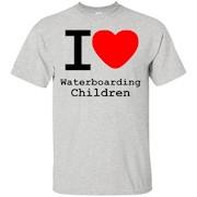 I love Waterboarding Children T-Shirt