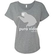 Costa Rica Sloth Pura Vida Souvenir T-shirt