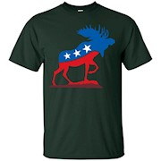 Bull Moose Party T Shirt – Funny Political Animal