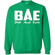 BAE Best Aunt Ever Family Love Support Auntie Gift Pullover Sweatshirt