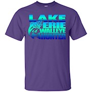 Lake Erie Walleye Hunter Fishing T-Shirt
