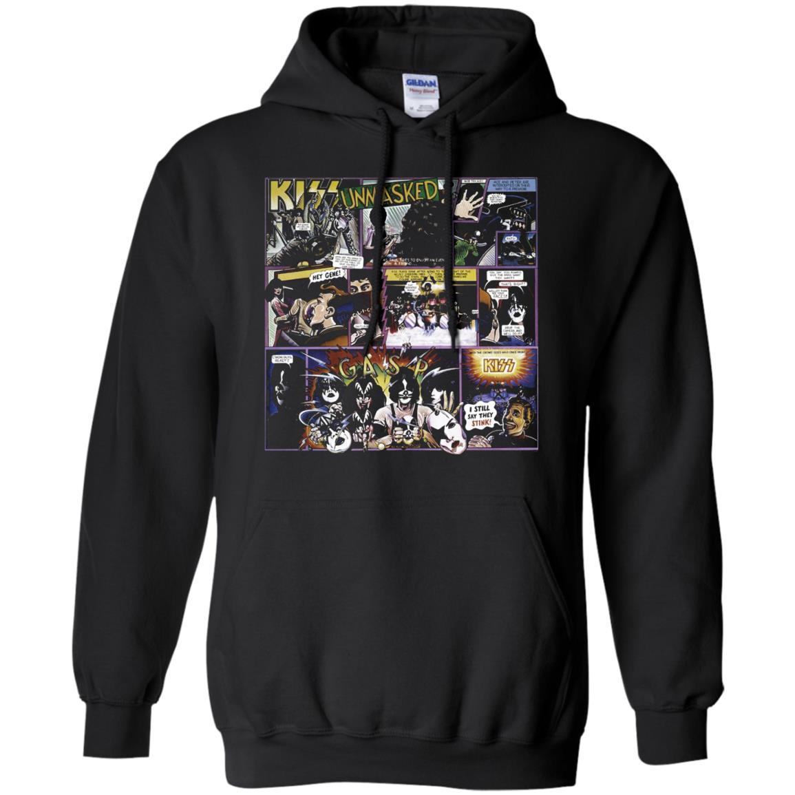 Kiss – 1980 Unmasked – Hoodie