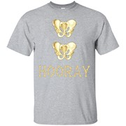 Hip Hip Hooray Bones Skeleton Tee – T-Shirt