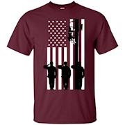 Lineman American Flag Electric Cable Lineman Gift – T-Shirt
