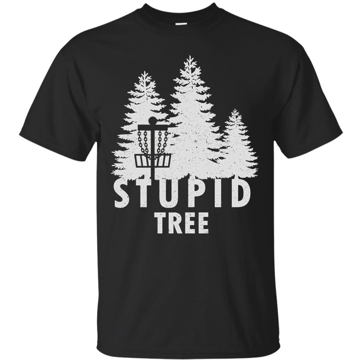 Disc Golf Stupid Tree Funny Disc Golf Tee