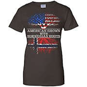 American Grown With Norwegian Roots T-Shirt Tshirt