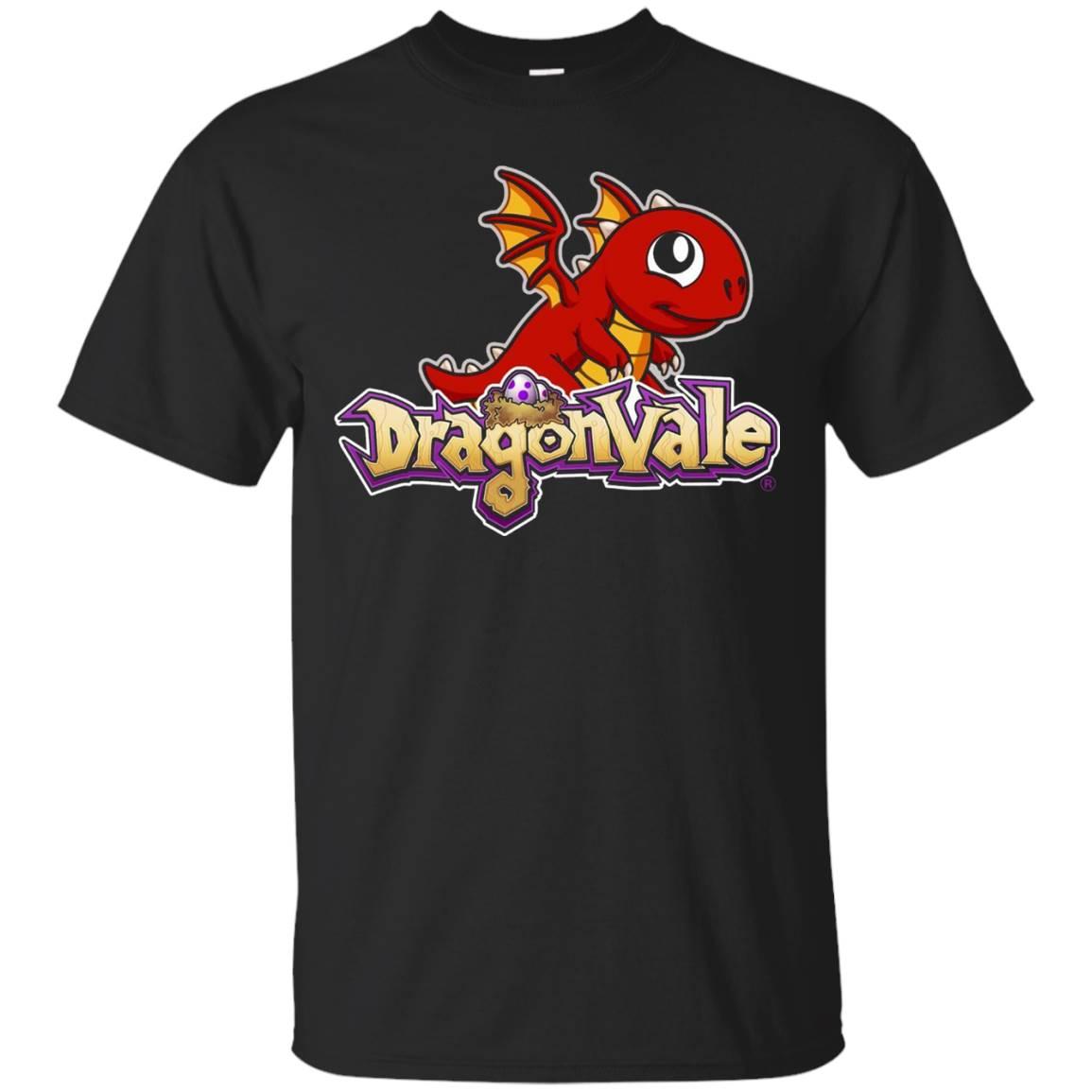 DragonVale Baby Fire Dragon Logo T-Shirt