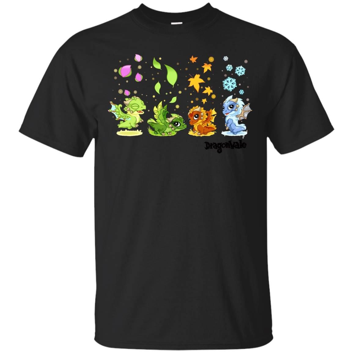 DragonVale The Four Seasonal Dragon T-Shirt