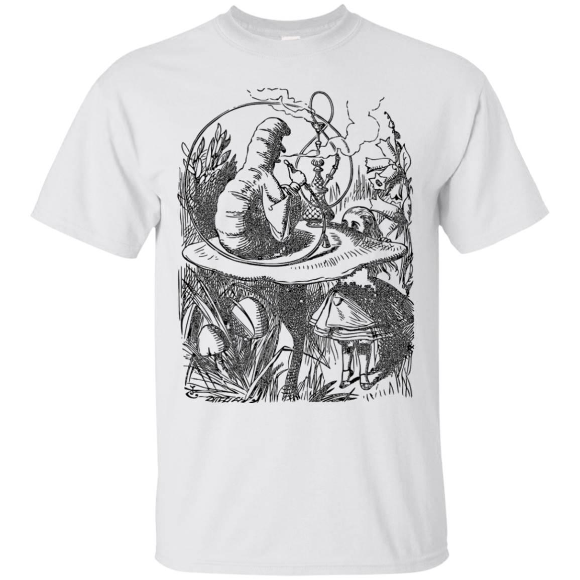 Big Texas Alice in Wonderland – Smoking Caterpillar T-Shirt