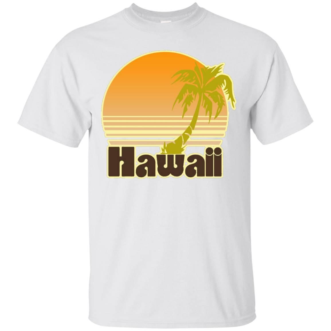 Retro Hawaii shirt for Hawaiian vacation vintage t-shirt