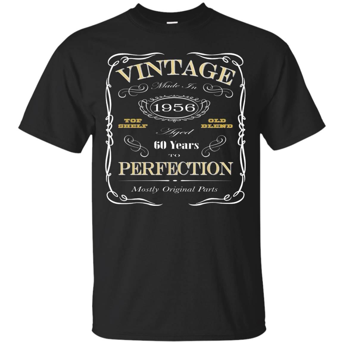 60th Birthday Gift T-Shirt – Born In 1956 – Vintage