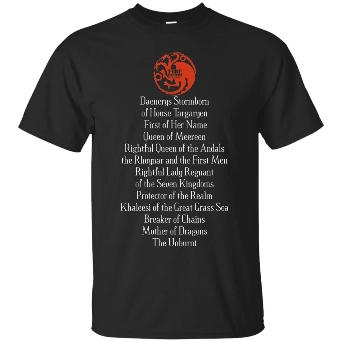 Daenerys Targaryen Full Name